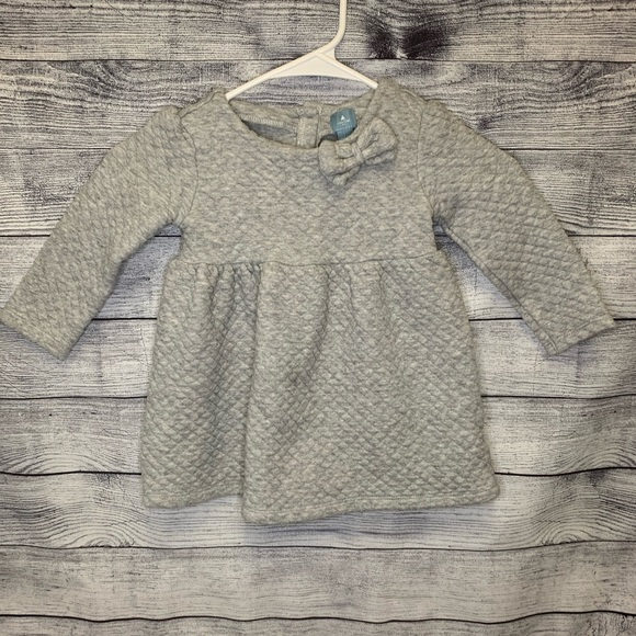 GAP Other - Baby GAP quilted dress with bow